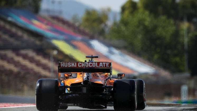 É a última corrida de Sainz em casa com a McLaren. Em 2021, ele vai para a Ferrari