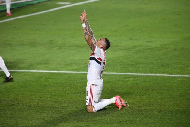 É campeão! O São Paulo conquistou o Paulistão 2021 ao superar o Palmeiras e coroou uma grande campanha. Líder do grupo B e clube de melhor campanha na classificação geral da fase de grupos, o Tricolor mostrou a força do seu elenco na competição. Lembre a trajetória do São Paulo jogo a jogo até o título!