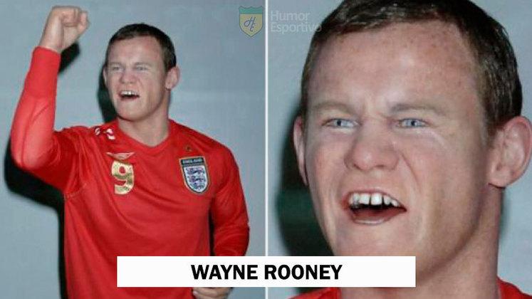 E esse rosto do Wayne Rooney?
