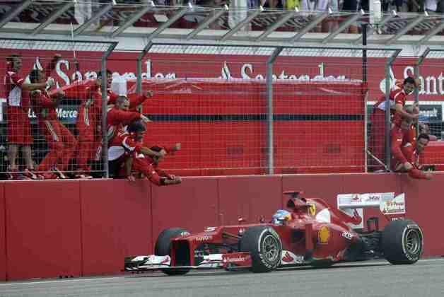 É inegável que Alonso sempre conseguiu extrair mais do que a Ferrari lhe entregava