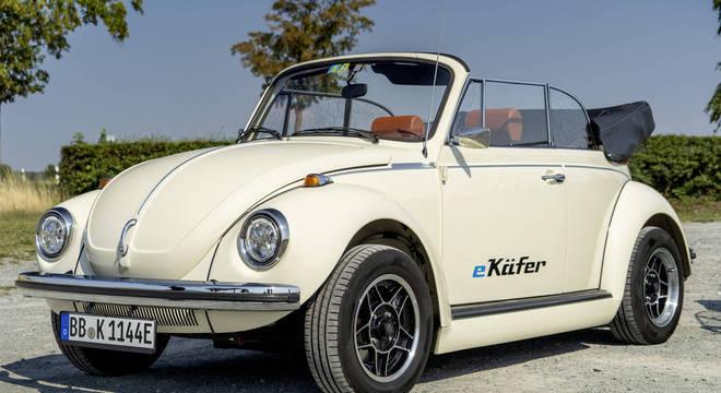 e-Kafer é o Fusca elétrico oferecido na Europa com kit próprio que rende cerca de 81cv