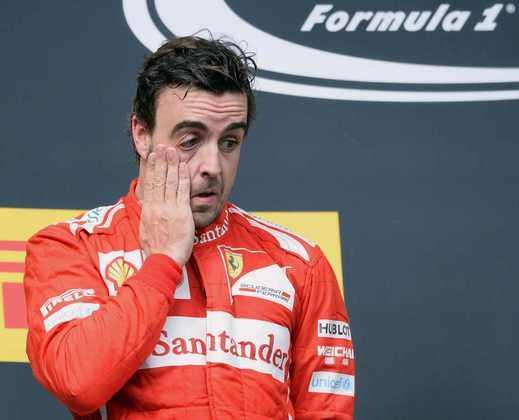 E o desgaste da relação piloto/equipe já estava bastante perceptível