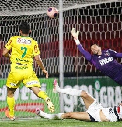 E, para finalizar, a mais recente: diante do Mirassol, o São Paulo foi eliminado dentro do Morumbi ao perder por 3 a 2, nas quartas de final do estadual de 2020.