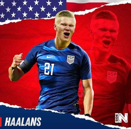 E se Erling Haaland fosse americano?