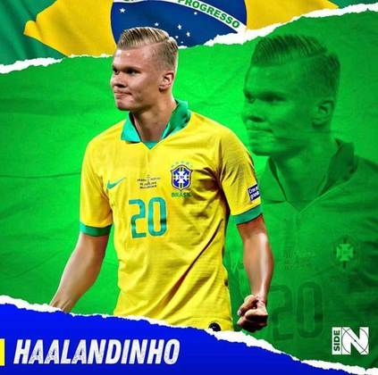 E se Erling Haaland fosse brasileiro?