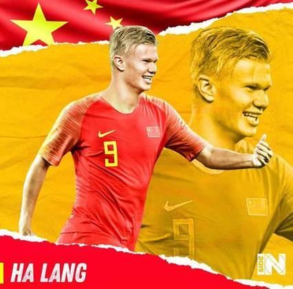 E se Erling Haaland fosse chinês?