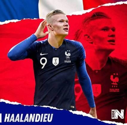 E se Erling Haaland fosse francês?