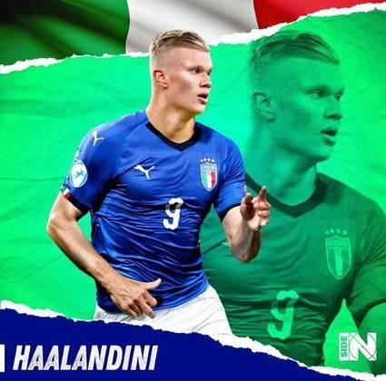 E se Erling Haaland fosse italiano?