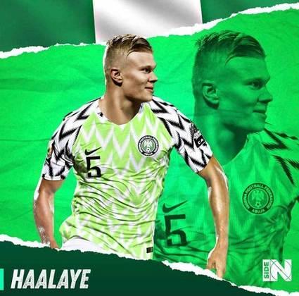 E se Erling Haaland fosse nigeriano?