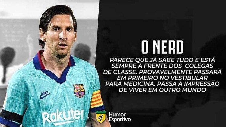E se o Messi fosse aluno no colégio dos boleiros?