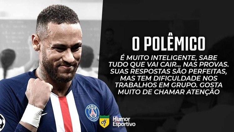 E se o Neymar fosse aluno no colégio dos boleiros?