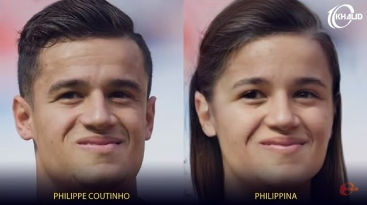 E se Philippe Coutinho fosse mulher?