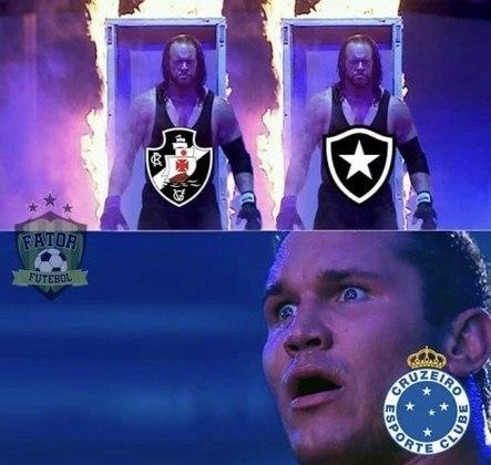 É TETRA! Vasco é rebaixado pela quarta vez e rivais enchem as redes sociais com memes