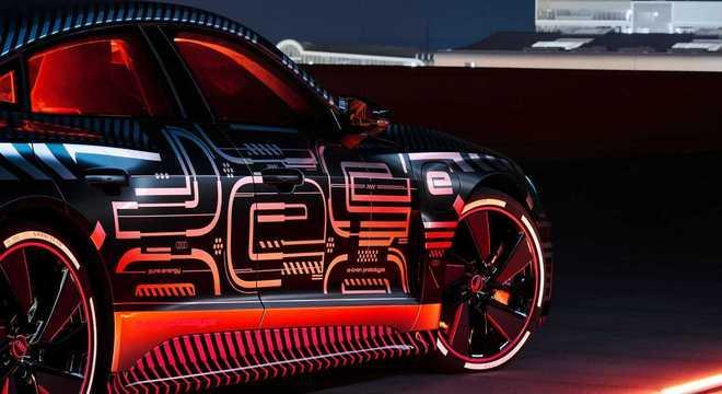 RS e-Tron GT é o carro elétrico mais potente já fabricado pela Audi e será lançado aqui