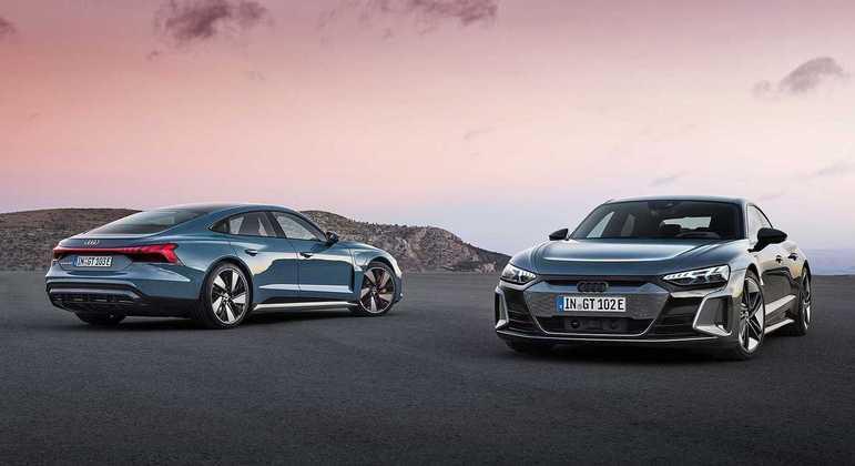 A Audi revelou na tarde desta terça-feira (9), o novo e-tron GT, o terceiro carro da linha e-tron