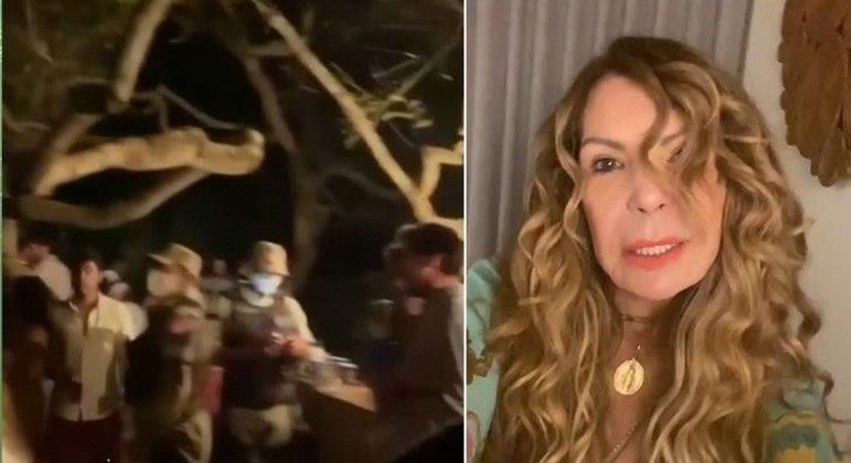 Festa com 500 pessoas na casa de cantora na Bahia acaba com polícia