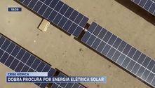 Crise hídrica: dobra procura por energia elétrica solar