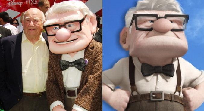 Ed Asner fez muito sucesso como a voz de Carl na animação 'Up - Altas Aventuras'