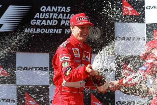 Eddie Irvine disputou 81 corridas até vencer o GP da Austrália de 1999
