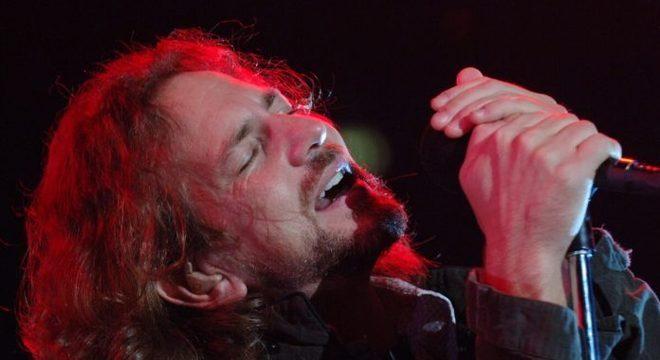 Eddie Vedder com o Pearl Jam