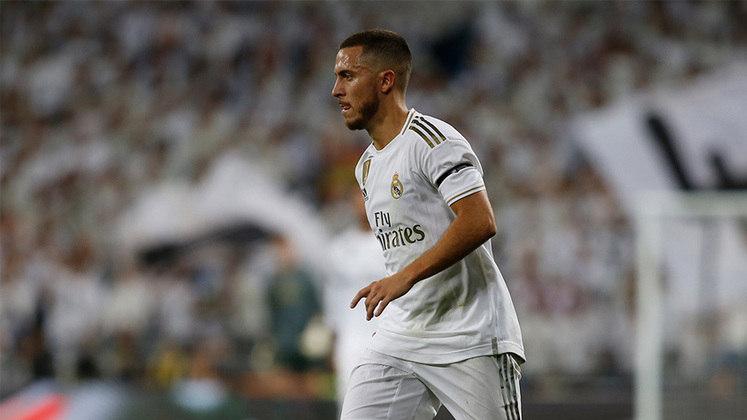 Eden Hazard: O belga de 29 anos é considerado hoje o principal jogador do Real Madrid. Ele chegou aos Galáticos depois de temporadas de sucesso no Chelsea. Hazard também já figurou entre os 10 melhores jogadores do mundo (2015, 2018 e 2019).