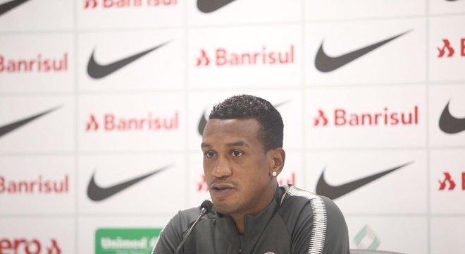 Edenilson lembrou empate com reservas do Palmeiras Crédito: Inter / Divulgação / CP