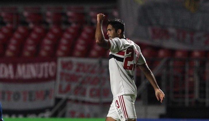 Eder - 1 gol: recém-contratado, marcou na goleada por 5 a 1 sobre o São Caetano, no Morumbi.