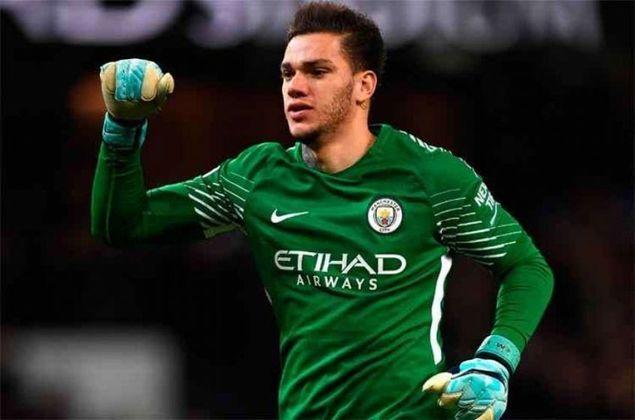 EDERSON - 26 anos - Manchester City - R$ 341 milhões