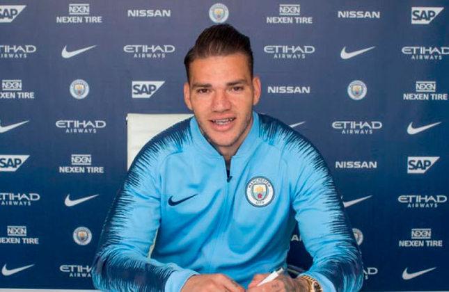 Ederson - Posição: goleiro - Clube em 2019: Manchester City - Clube em 2021: Manchester City.