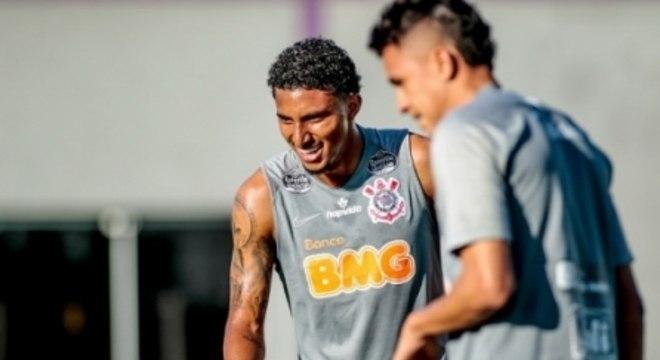 Éderson - Treino Corinthians