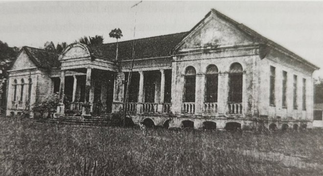 Casarão que fazia parte do campo de concentração de Tomé-Açu
