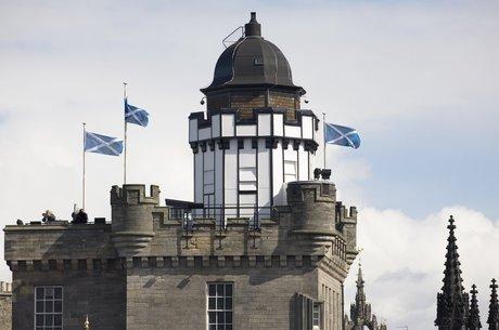 A Camera Obscura and World of Illusions é uma popular atração turística de Edimburgo, na Escócia