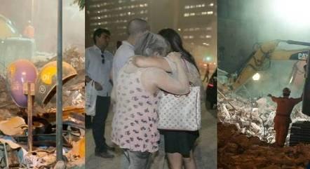 Desabamento matou 22 pessoas em 2012