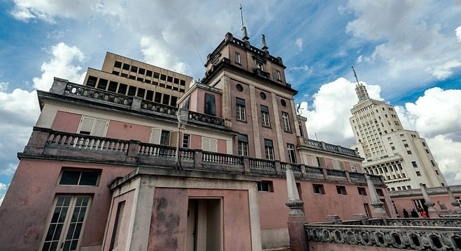 Palacete no terraço está fechado ao público, mas poderá ser reaberto