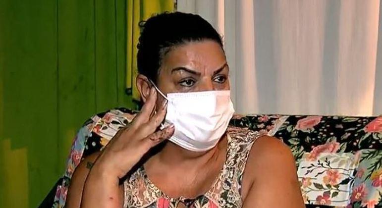 Edileuza se recupera em casa das queimaduras e ferimentos e mantém endereço sob sigilo