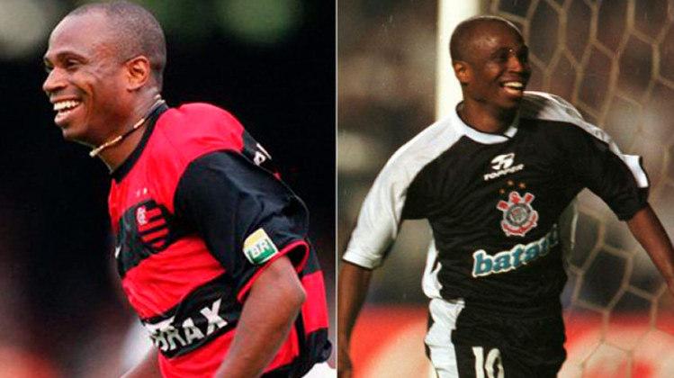 EDILSON – O Capetinha também conquistou muitas taças com o Rubro Negro carioca e com o Alvinegro paulista.