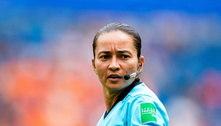 De ex-bandeirinha para o Mundial: Edina Alves brilha na arbitragem