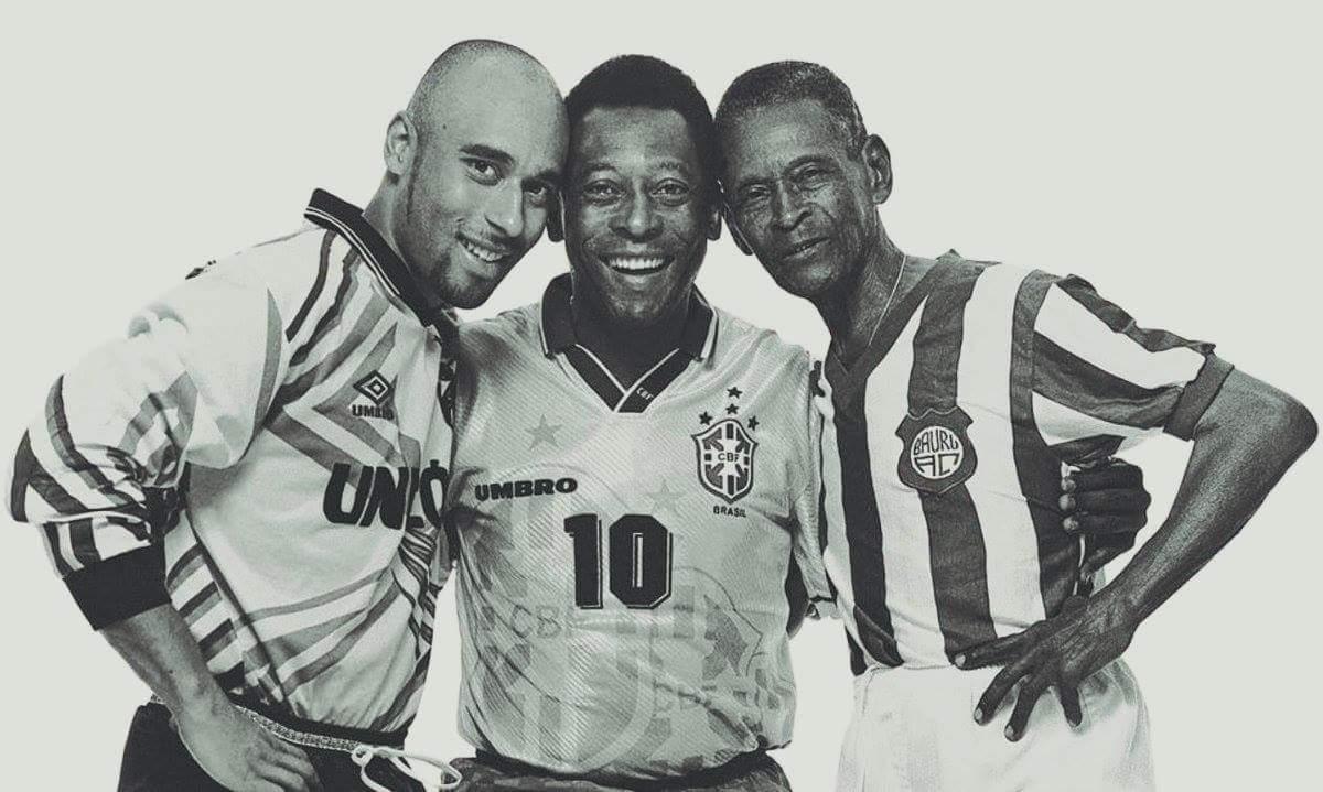 Edinho, Pelé e o 'Maleável' Dondinho. Mesmo DNA. Três destinos