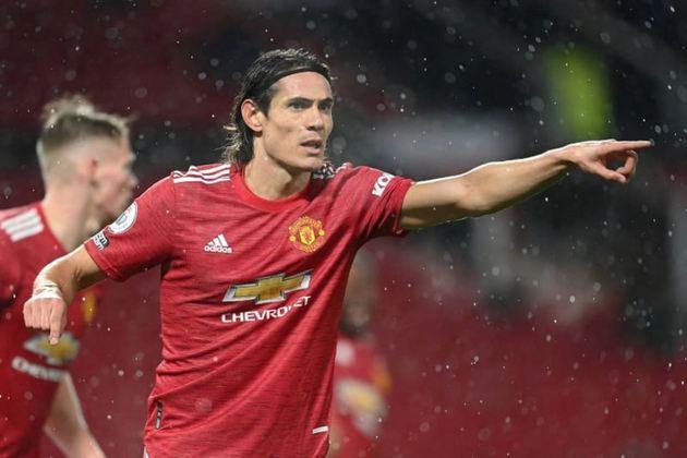Edinson Cavani (Uruguai) - Manchester United - Contrato até: 30/06/2021