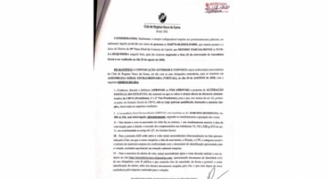 Edital AGE - Vasco 3