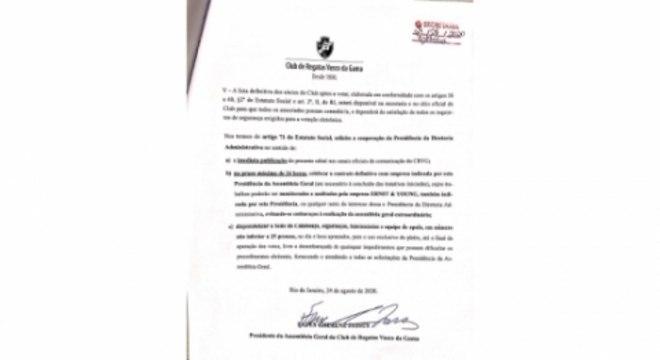 Edital AGE - Vasco 4