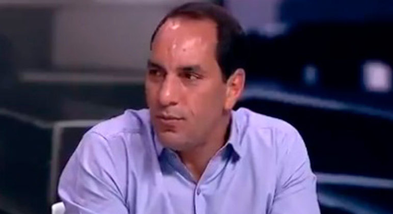O ex-jogador Edmundo volta a ser comentarista do Grupo Bandeirantes