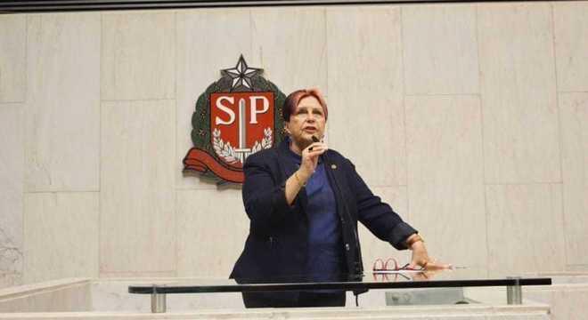 A deputada estadual Edna Macedo