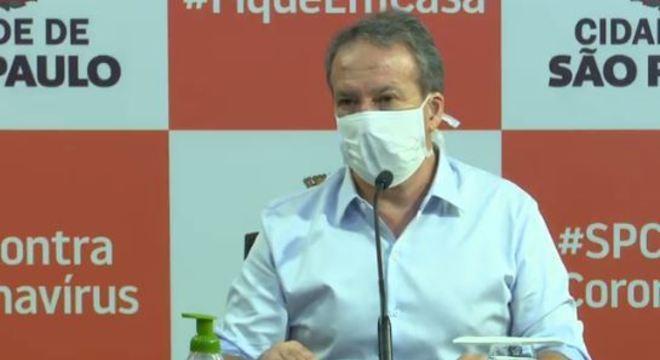 Secretário de Saúde afirma que São Paulo tem 1,16 milhão de infectados