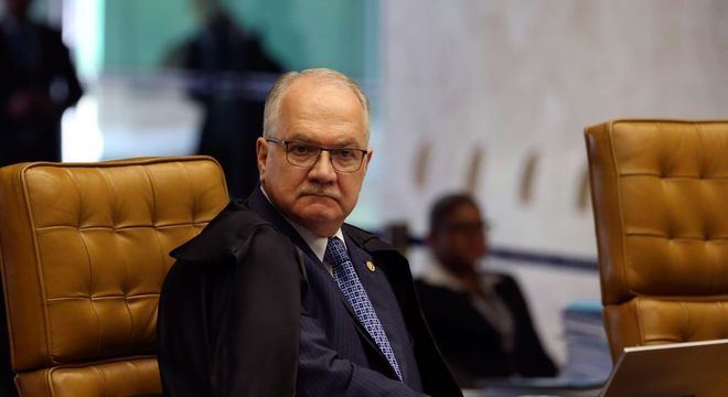O ministro Edson Fachin, do Supremo Tribunal Federal (STF)