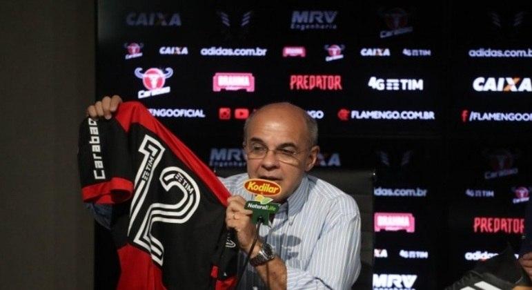 Eduardo Bandeira de Mello é ex-presidente do Flamengo