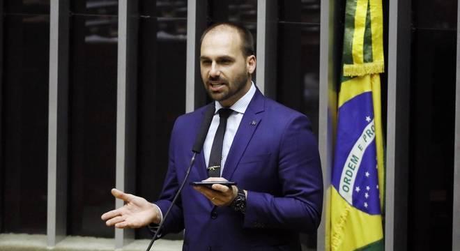 Eduardo Bolsonaro critica Estado de Roraima