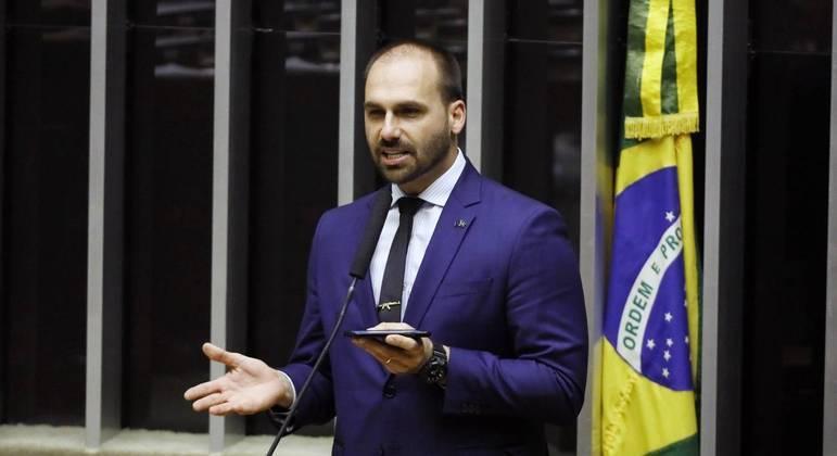 Deputado Eduardo Bolsonaro (PSL/SP): nova declaração polêmica envolvendo do STF.