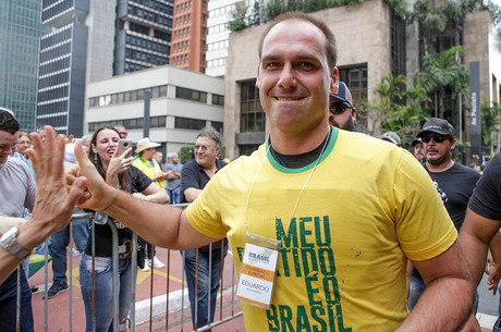 Eduardo Bolsonaro (PSL-SP), deputado federal reeleito
