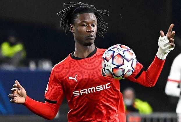 Eduardo Camavinga (18 anos) - Posição: meia - Clube: Stade Rennais.